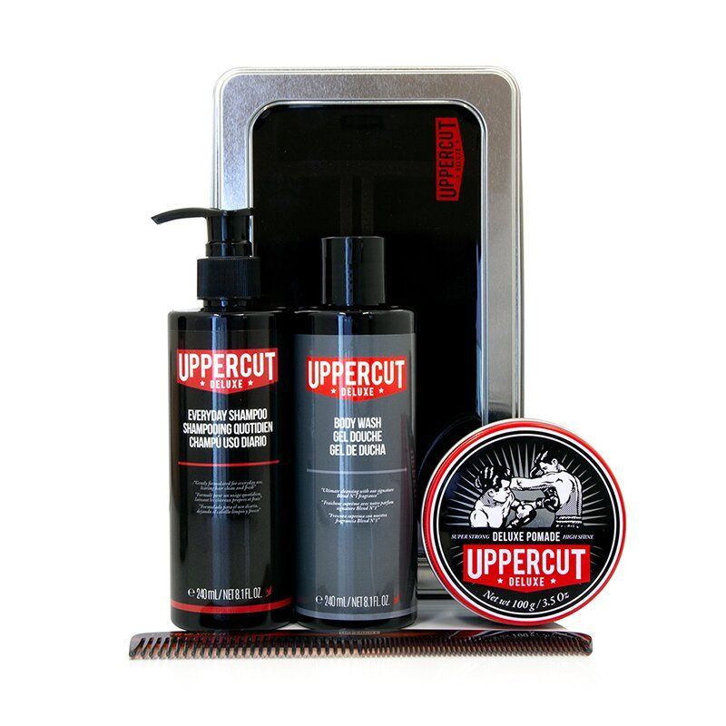 Набор Uppercut Deluxe Grooming Kit Deluxe Pomade